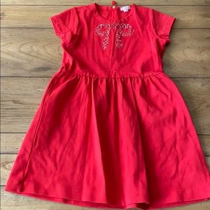 Crewcuts Girls (8) Red Dress